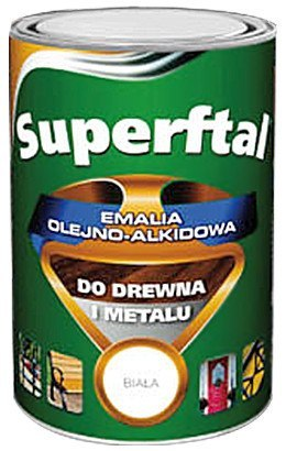 EMALIA SUPERFTAL DO DREWNA I METALU KREMOWA 0.8L
